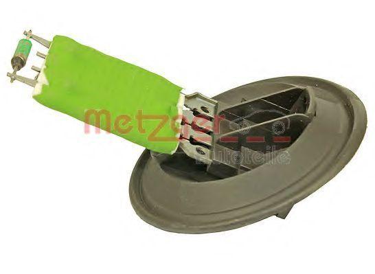 Резистор вентилятора печки METZGER 0917028