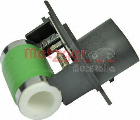 Резистор вентилятора печки METZGER 0917174
