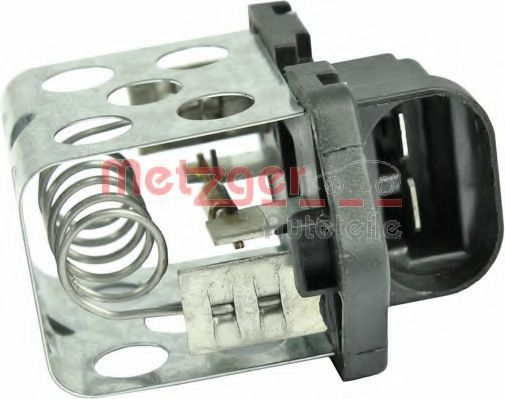 Резистор вентилятора печки METZGER 0917164