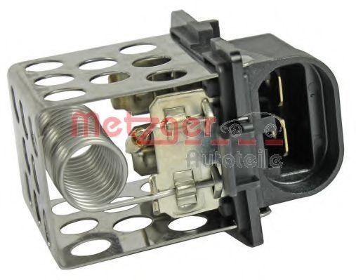 Резистор вентилятора печки METZGER 0917132