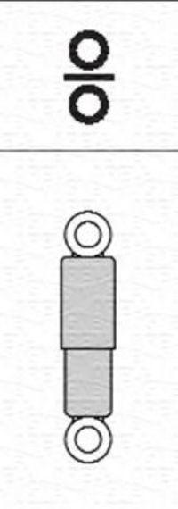 Амортизатор подвески MAGNETI MARELLI 351813070000