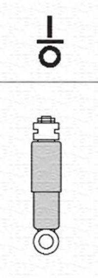 Амортизатор подвески задний MAGNETI MARELLI 357070070000