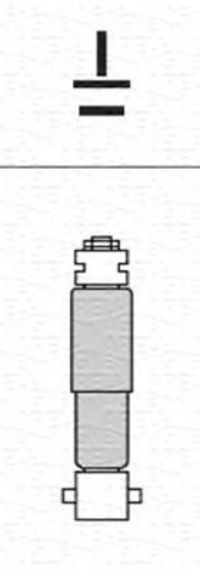 Амортизатор подвески MAGNETI MARELLI 352702070000