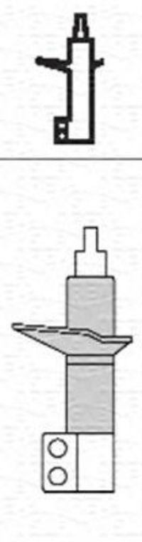 Амортизатор подвески MAGNETI MARELLI 350759080000