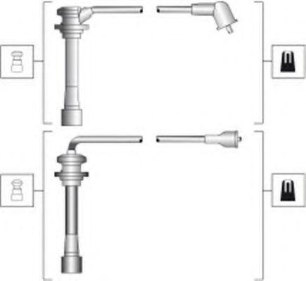 Провода высоковольтные комплект MAGNETI MARELLI 941318111278