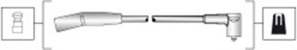 Провода высоковольтные комплект MAGNETI MARELLI 941318111280
