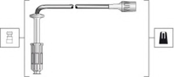 Провода высоковольтные комплект MAGNETI MARELLI 941318111284