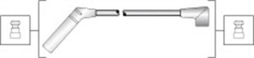 Провода высоковольтные комплект MAGNETI MARELLI 941318111291