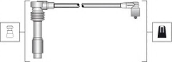 Провода высоковольтные комплект MAGNETI MARELLI 941318111294