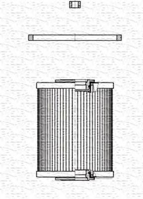 Топливный фильтр MAGNETI MARELLI 213908507000