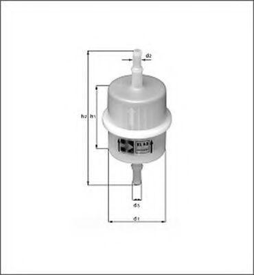 Топливный фильтр MAGNETI MARELLI 154087186030