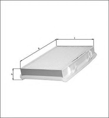 Фильтр, воздух во внутренном пространстве MAGNETI MARELLI 154064171410