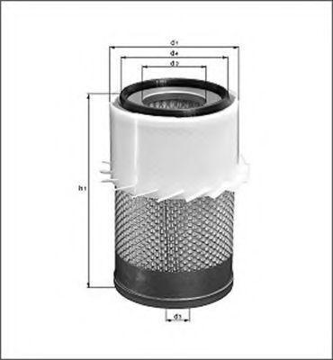 Воздушный фильтр MAGNETI MARELLI 154098044770