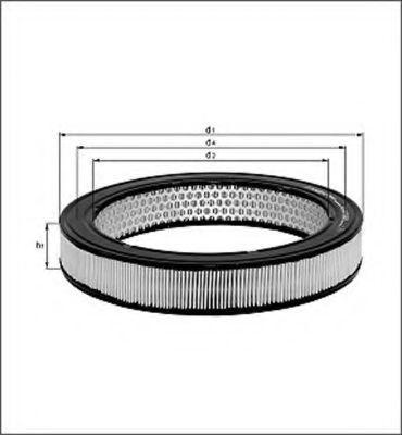 Воздушный фильтр MAGNETI MARELLI 154076535530