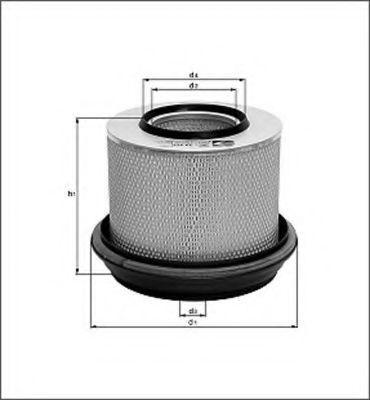 Воздушный фильтр MAGNETI MARELLI 154020028060