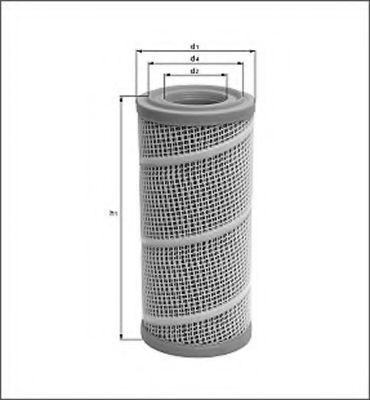 Воздушный фильтр MAGNETI MARELLI 154065447380
