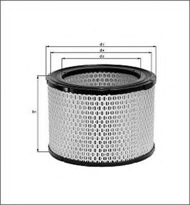 Воздушный фильтр MAGNETI MARELLI 154077054940