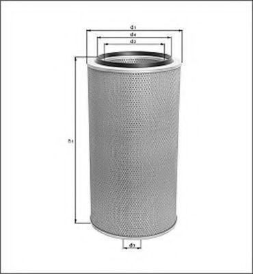 Воздушный фильтр MAGNETI MARELLI 154070505370