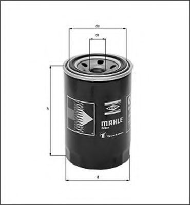 Масляный фильтр MAGNETI MARELLI 154703841910