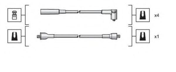 Провода высоковольтные комплект MAGNETI MARELLI 941318111023