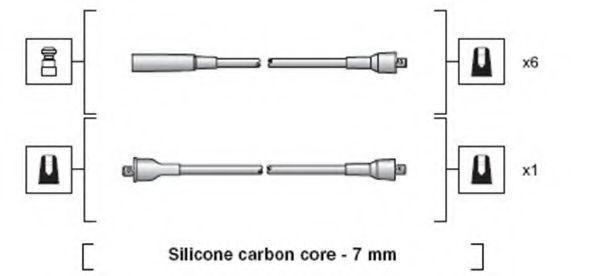 Провода высоковольтные комплект MAGNETI MARELLI 941318111031