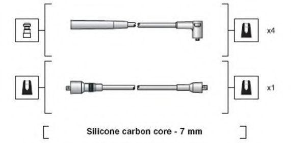 Провода высоковольтные комплект MAGNETI MARELLI 941318111126