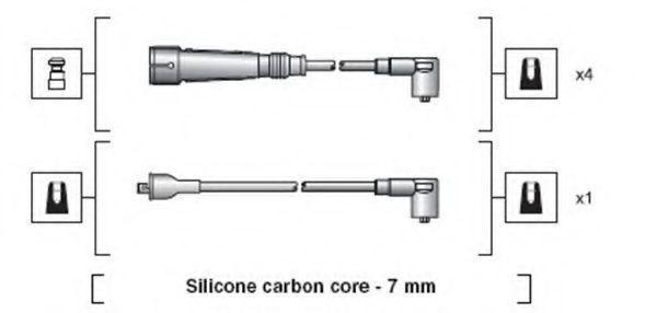 Провода высоковольтные комплект MAGNETI MARELLI 941318111155