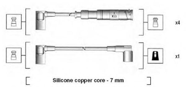 Провода высоковольтные MAGNETI MARELLI 941115020651