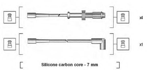Провода высоковольтные комплект MAGNETI MARELLI 941135120700