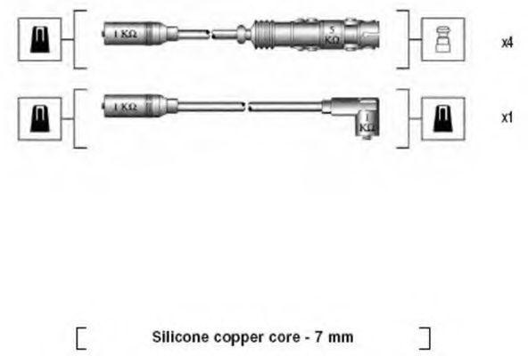 Провода высоковольтные MAGNETI MARELLI 941175160757