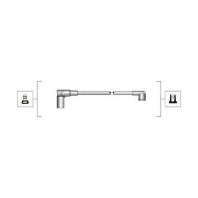 Провода высоковольтные комплект MAGNETI MARELLI 941319170002