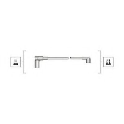 Провода высоковольтные комплект MAGNETI MARELLI 941319170008