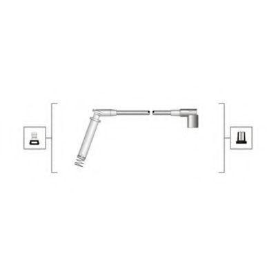 Провода высоковольтные комплект MAGNETI MARELLI 941319170018