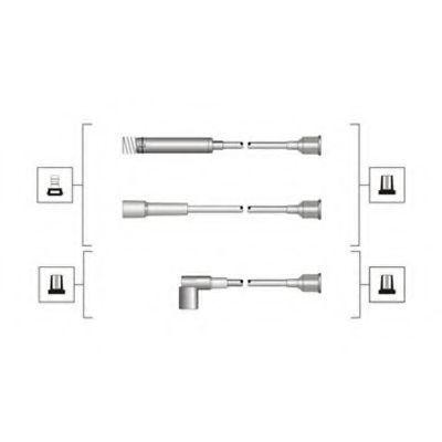 Провода высоковольтные комплект MAGNETI MARELLI 941319170047