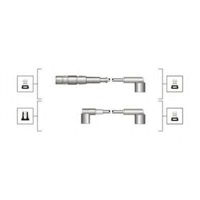 Провода высоковольтные комплект MAGNETI MARELLI 941319170048