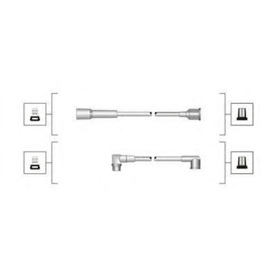Провода высоковольтные комплект MAGNETI MARELLI 941319170067