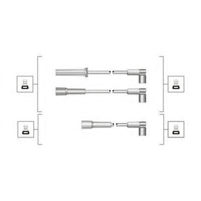 Провода высоковольтные комплект MAGNETI MARELLI 941319170075