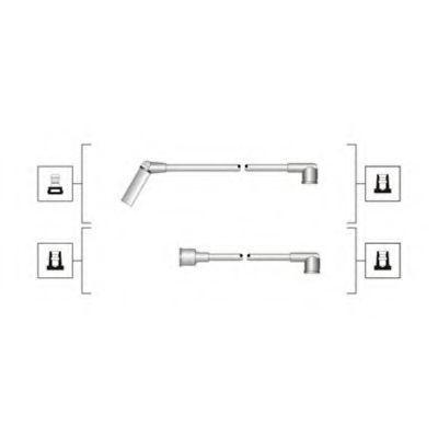 Провода высоковольтные комплект MAGNETI MARELLI 941319170091