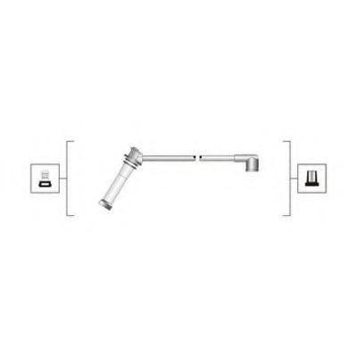 Провода высоковольтные комплект MAGNETI MARELLI 941319170092