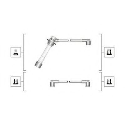 Провода высоковольтные комплект MAGNETI MARELLI 941319170093