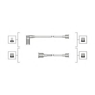 Провода высоковольтные комплект MAGNETI MARELLI 941319170094