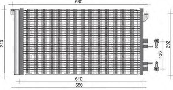 Конденсатор, кондиционер MAGNETI MARELLI 350203248000