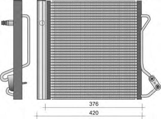 Конденсатор, кондиционер MAGNETI MARELLI 350203264000