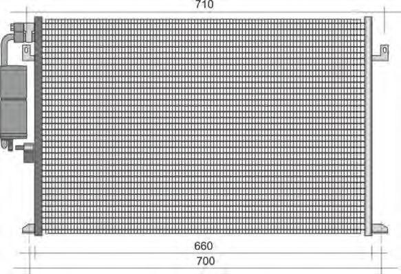 Конденсатор, кондиционер MAGNETI MARELLI 350203426000