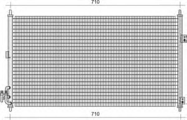 Конденсатор, кондиционер MAGNETI MARELLI 350203430000