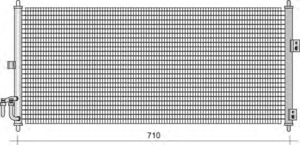 Конденсатор, кондиционер MAGNETI MARELLI 350203480000
