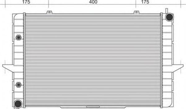 Радиатор, охлаждение двигателя MAGNETI MARELLI 350213117300