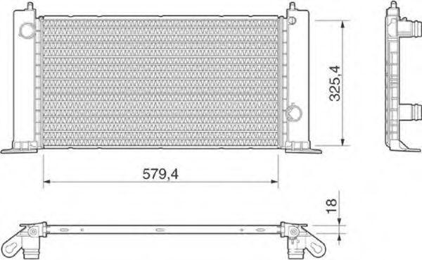 Радиатор охлаждения MAGNETI MARELLI 350 21 318 900 0