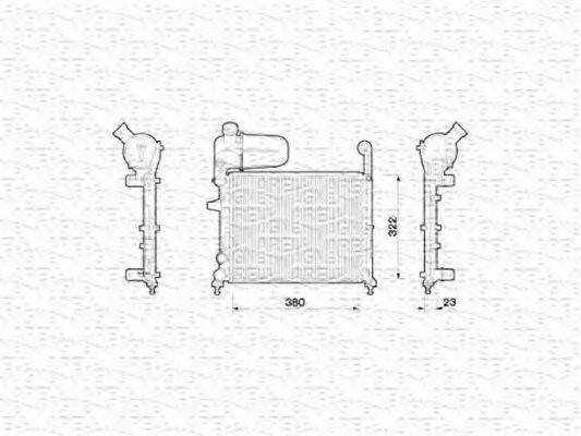 Радиатор охлаждения MAGNETI MARELLI 350213787000