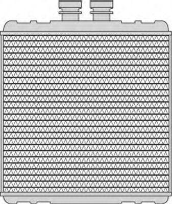 Теплообменник, отопление салона MAGNETI MARELLI 350218240000